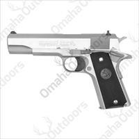 "Colt 1911 Stainless SS .38 38 SUPER 5"" 9 RD 02901"