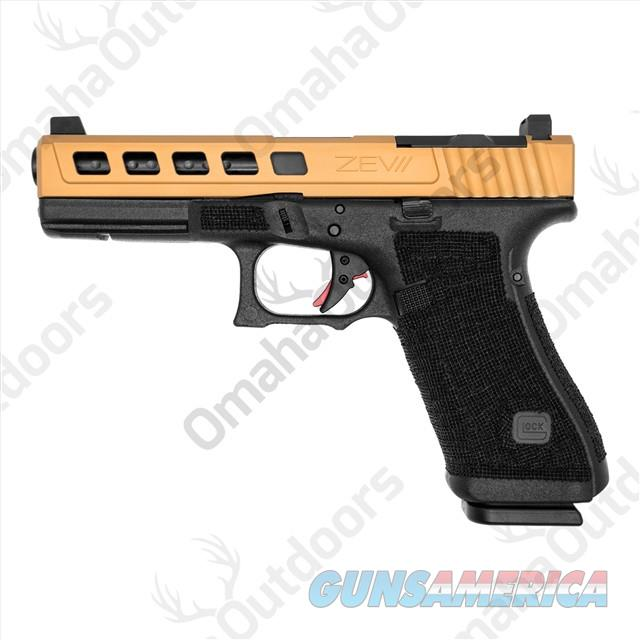 ZEV Tech Glock 17 G17 Gen 4 Dragonfly Bronze Slide Gun