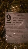.223 Reconditioned Brass Primed  qty 1000