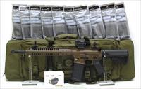 Call For Special Sale Price! New LWRC M6IC-A5 caliber 5.56 Patriot Brown XTREME PACK 10 PMAGS, RIFLE CASE, FREE HOLOSUN RED DOT!