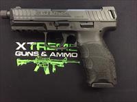 H&K VP9 Tactical 9mm with Threaded Barrel, 3 mags, & Factory Tritium Night Sights!