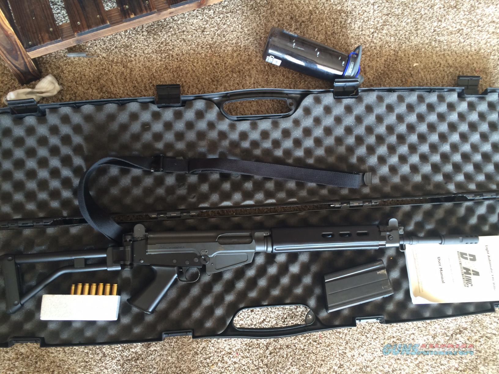 DSA Para (side folding stock) 18' inch barrel FAL