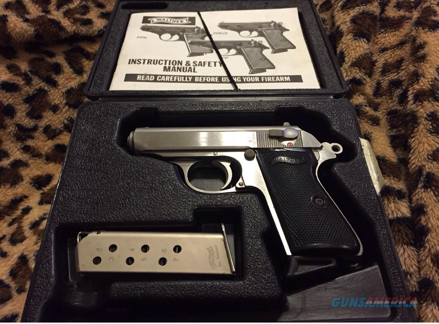 ppk walther manual s how to and user guide instructions u2022 rh taxibermuda co Walther PPK S Walther PPK 380 Auto