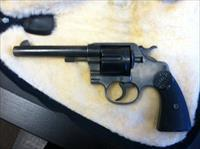 Colt New Service revolver, chambered in .455 Eley.