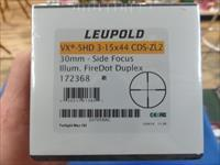 Leupold VX-5HD 3-15X44 CDS-ZL2 30MM Side Focus Fire Dot Duplex