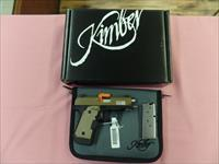 Kimber Micro 9 Desert Tan with crimson trace