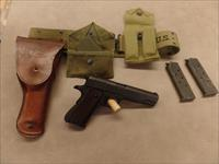 Early 1944 Remington Rand 1911 .45ACP- Dated GI Rig 1942