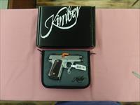 Kimber Micro 9 sts with rosewood grips