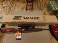 Savage Axis 2 With Accutrigger Wood Stock And Weaver 3-9X40 Scope (243 Cal)