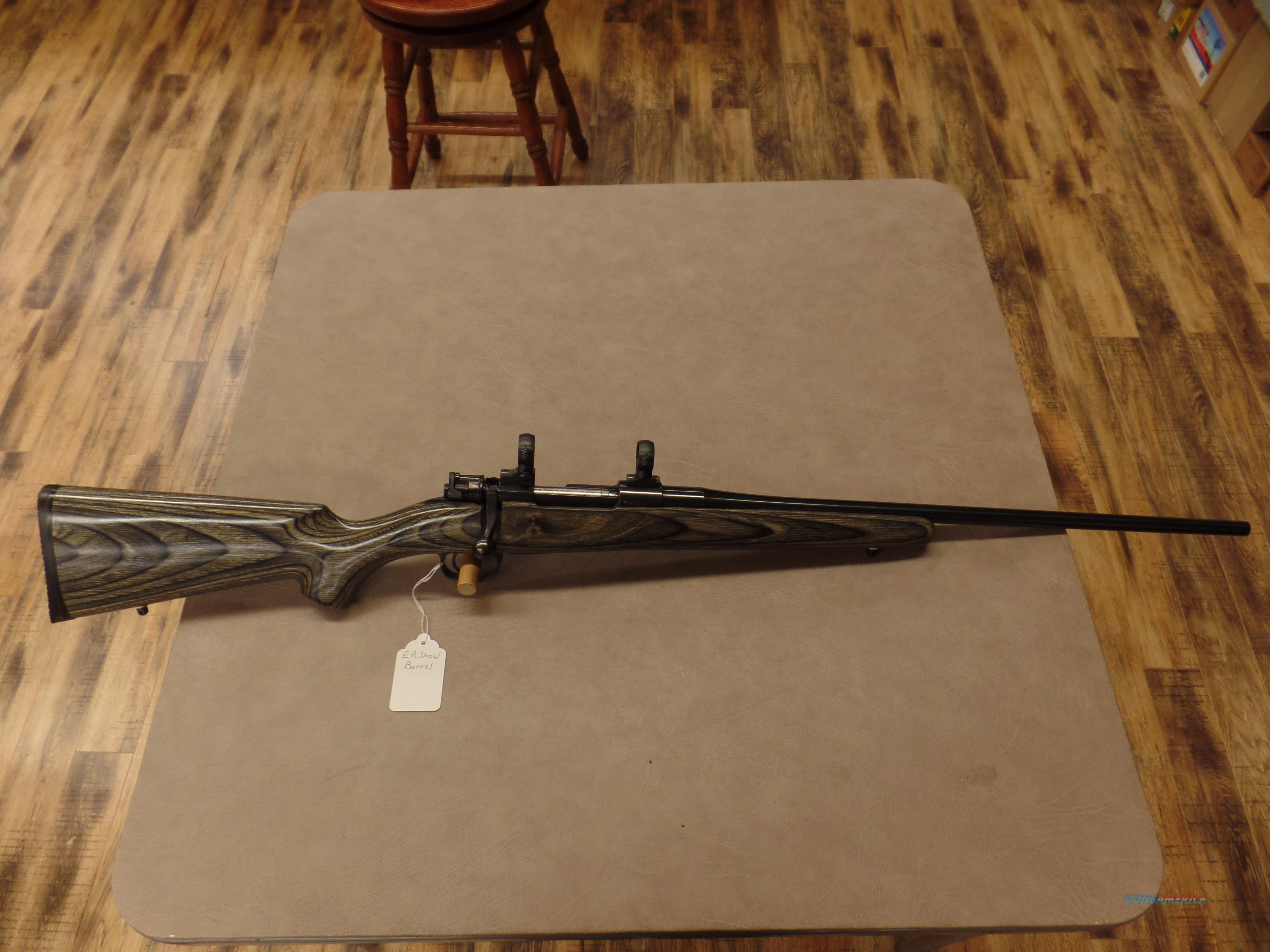 Yougo Mauser Action with a E R  Shaw Barrel