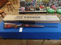 Savage Axis Wood With Accutrigger & 3-9X40 Bushnell (30-09)