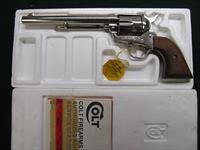 Colt Single Action Army .357 Mag 7.5 inch barrel nickel
