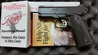 "ULTRA CARRY II 3"" .45 ACP, BLACK,  LNIB"