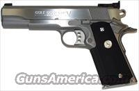 GOLD CUP TROPHY STAINLESS .45 ACP O5070X/FREE COLT GEAR PROMO (DISCONTINUED)