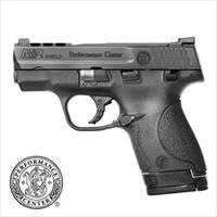 M&P PERFORMANCE CENTER SHIELD 9MM, PORTED, NIGHT SIGHTS, $75 REBATE