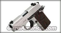 P238 ALL STAINLESS/ROSEWOOD GRIPS .380 ACP