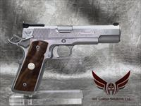 "Wilson Combat Classic Supergrade 5"" .45acp - All Stainless Steel with Matte Bead Blast Finish and Polished Sides of Slide and Frame"