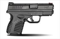 Springfielssential Blackd Armory XDs 9mm 3.3 E