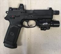 FN FNP Tactical 45ACP w/Trijicon RMR & Surefire X400 Light and Laser