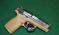 "Smith & Wesson M&P 45C FDE Dark Brown/Black Slide 4"" 8+1"