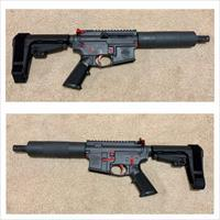 Custom Built 300 Blackout PISTOL w/ Custom Cerakote Scheme