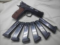 CZ 75 SP-01 Shadow Single Action (SAO) with 6ea 18rd mags +extras