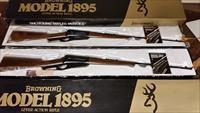 Pair with consecutive SNs, Browning model 1895 .30/.06