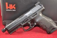 H&K HK VP9 Tactical 9mm T.B. N.S. 15+1 New Layaway 700009TLE-A5