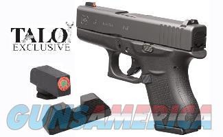 glock 43 talo 9mm ns 6 1 layaway noccfee ui4350 for sale
