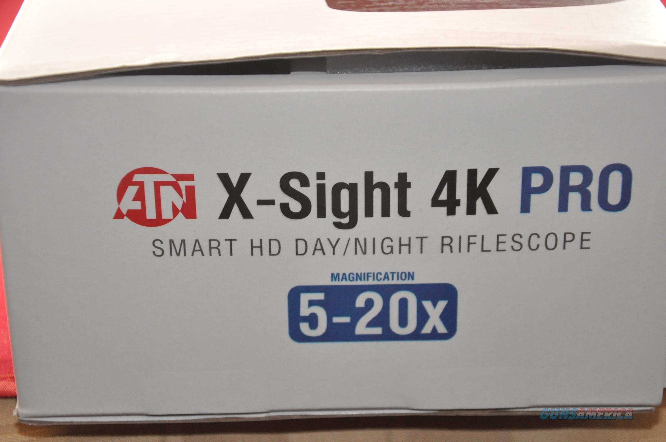 ATN X-Sight 4K Pro Smart Ultra HD 5-20x Smart Day/Night Rifle Scope  DGWSXS5204KP