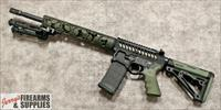"F-1 Firearms ""Custom"" Punisher Skulls AR-15 - 5.56 NATO - OD Green *Head Turner*"