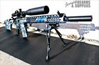 Fully Modified F-1 Firearms 308 Rifle - Skeletonized AR-10 Tack Driver