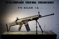 NY/CA Compliant FN SCAR 16 - Fixed Magazine