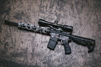 Spikes Tactical Punisher w. Punisher Forearm in 300 Black OUT
