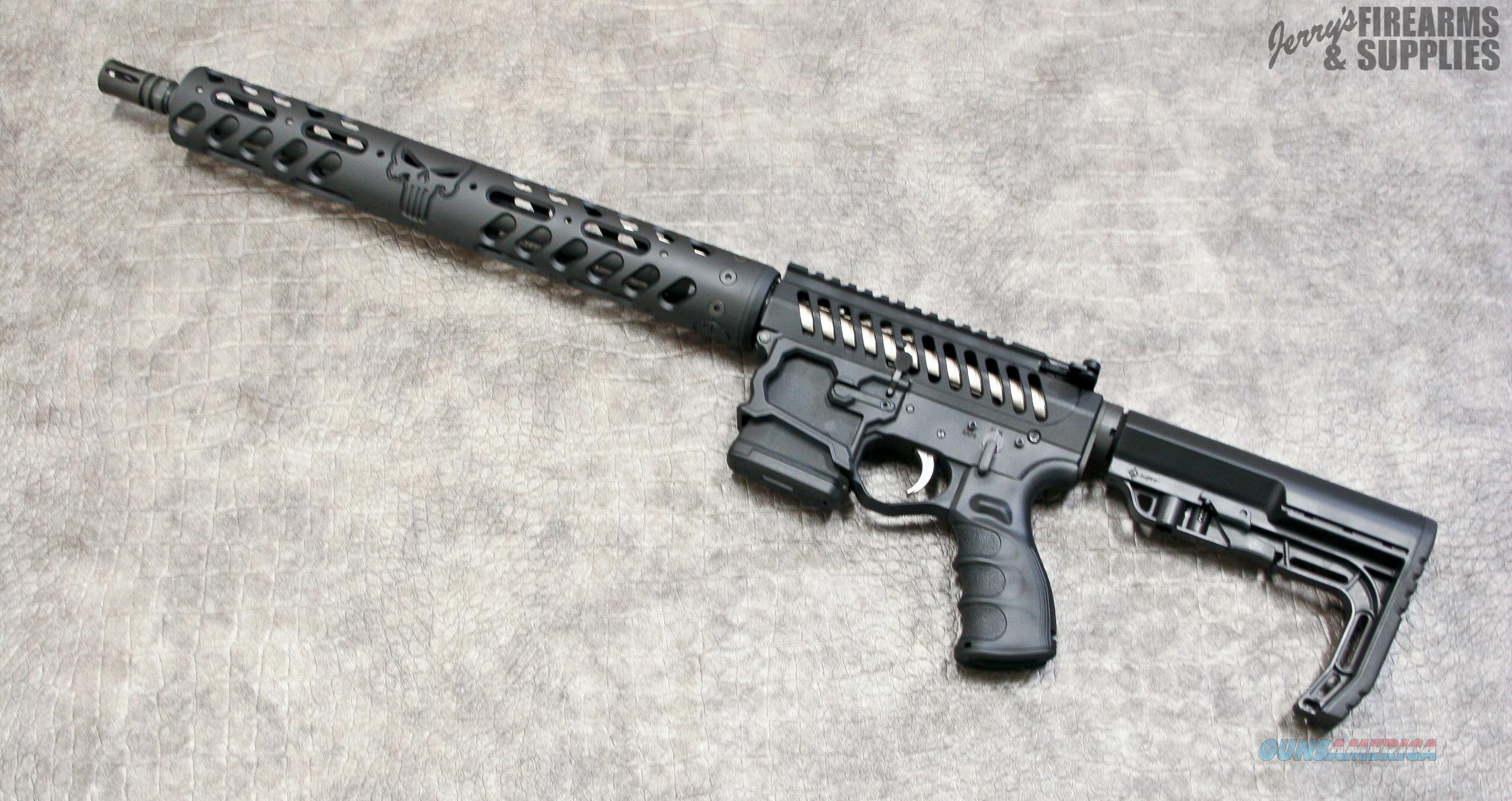 Rum First Paint F 1 Firearms Quot Custom Quot Punisher Skull Ar 15 Sk For Sale
