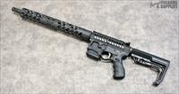 "F-1 Firearms ""Custom"" Punisher Skull AR-15 - Skeletonized Rifle"