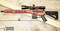 "F-1 ""Skeleton"" Burnt Orange AR-15 Complete Rifle w. Vortex Optics"