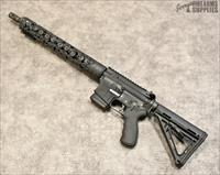 Anderson AR-15 w. One Shot to the Head Skull Custom Handguard