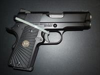 "WILSON COMPACT 1911 ""SENTINEL"" LIGHTWEIGHT PISTOL in 9 MM!"