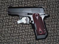 KIMBER MICRO CARRY .380 DC (Deep Cover) PISTOL WITH CRIMSON TRACE LASER
