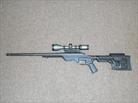 REMINGTON 700 TACTICAL .308 RIFLE IN AN MDT LSS TACTICAL CHASSIS, SCOPED