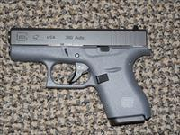 "GLOCK .380 ACP MODEL 42 PISTOL IN ""TACTICAL GREY"""