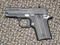 "SIG SAUER P-238 ""NIGHTMARE"" .380 ACP WITH VZ GRIPS"