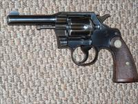 COLT OFFICIAL POLICE IN .38 COLT