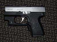 KAHR PM9 WITH CRIMSON TRACE LASER AND NIGHT SIGHTS 9 MM PISTOL