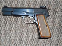 BELGIUM BROWNING HI-POWER 9 MM PISTOL -- REDUCED