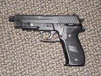 "SIG SAUER MK 25 ""NAVY"" PISTOL IN 9 MM WITH THREADED BARREL"