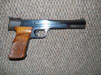 S&W MODEL 41 TARGET PISTOL WITH TWO BARREL ASSEMBLIES AND SIGHT