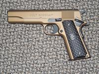 "COLT TALO GOVERNMENT MODEL .45 ACP PISTOL FINISHED  IN ""BURNT BRONZE"""