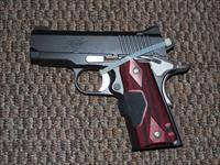 KIMBER ULTRA CARRY .45 ACP WITH CT LASER GRIPS